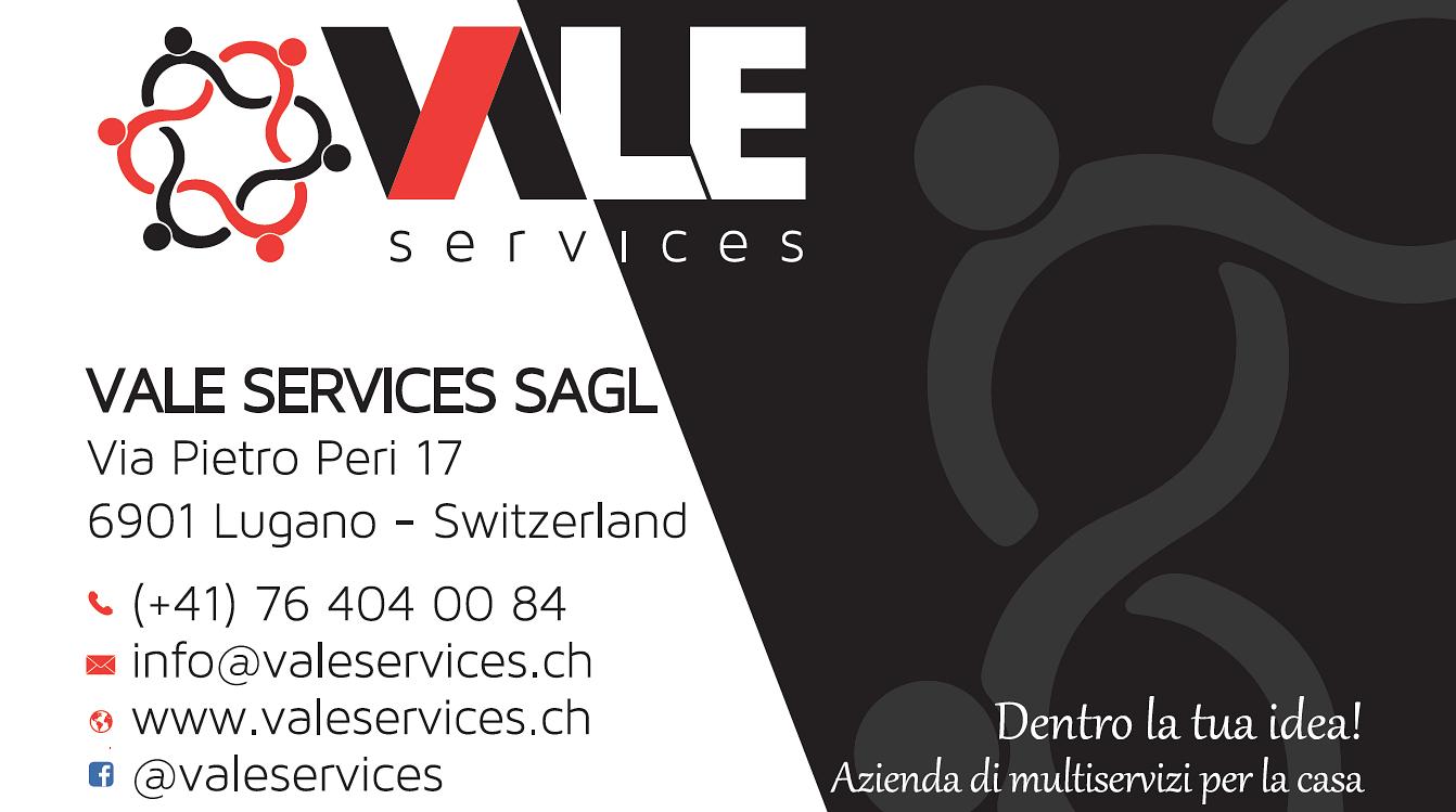 Vale services sagl a lugano indirizzi e orari d 39 apertura for Lettera di incarico prestazione servizi