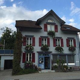 Geschäftshaus Alex Hofstetter Malergeschäft 9657 Unterwasser