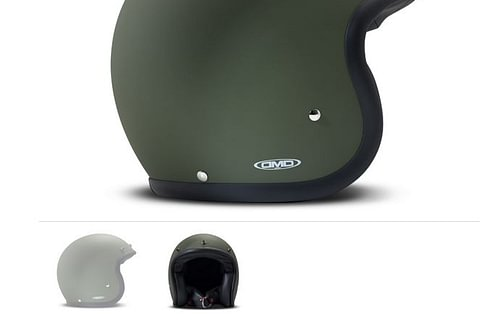 DMD Helmet Matt Green