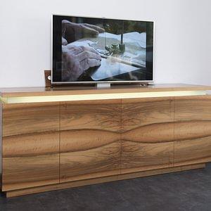 Sideboard Nussbaum mit Fernsehlift