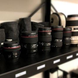 Eine breite Auswahl von Canon Premium-Objektiven der L Serie