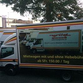 Mietwagen-Flotte (Nutzfahrzeug mit Kat.B)