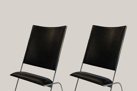 """Gio Ponti Pair of Armchairs """"di poco sedile"""", Italy, 1972"""
