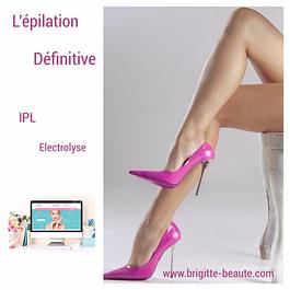 Epilation définitive laser lumière IPL
