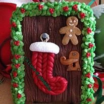 La Luna di Plastilina - decorazione per albero di Natale