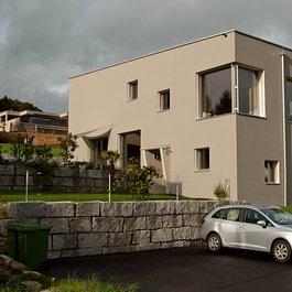 Neubau Einfamiliehaus in Minergie-P Standard