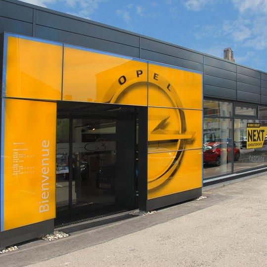Opel Show-room