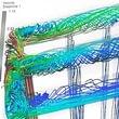 Simulation Fluiddynamik CFD