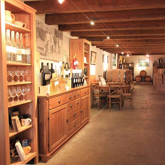 Venez découvrir nos vins directement au caveau