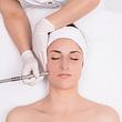 Gesichtsreinigungsbehandlung