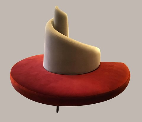 """Tatlin"" Round Sofa by Edra"