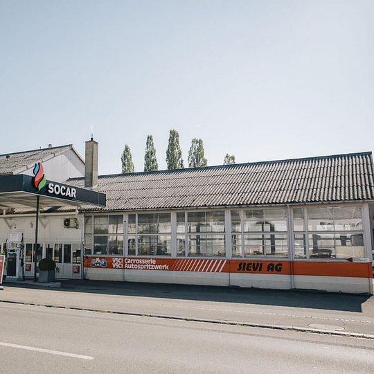 Sievi AG Carrosserie + Spritzwerk