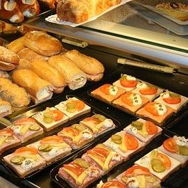 Belegte Brötli und Sandwichs