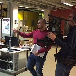 Co-production avec Equal Productions à Sion pour CNBC