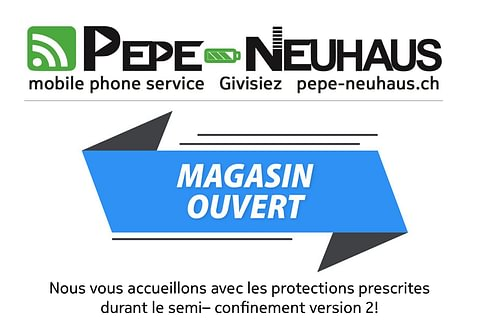Magasin Ouvert!!!