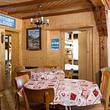 La salle à manger au rez-de-chaussée