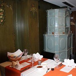 Old oven im Restaurant
