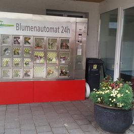 Blumenautomat, Blumen kaufen am Sonntag