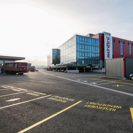 Stiftung Wendepunkt eingemietet im Schöni-Logistikcenter (4. Stock)