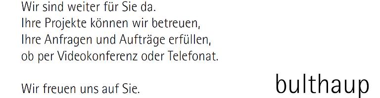 bulthaup Bern