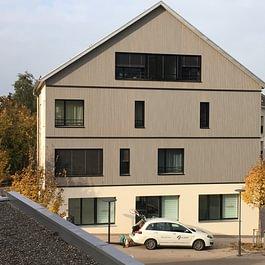 Dachkonstruktion & Fassadenarbeiten, Zentrum Inwil