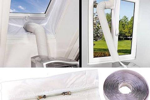 Bâche isolante fenêtre/velux pour climatiseur portable