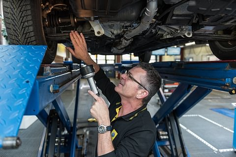Amtliche Fahrzeugprüfung MFK