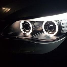 BMW E60 Bi-Xenon Angel Eyes LED Scheinwerfer
