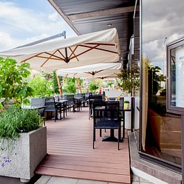 Crowne Plaza Geneva - Bar Terrace