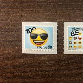 Emoji Briefmarken 1.00 + 0.85