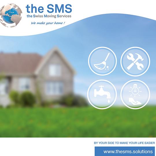the SMS, 1ère société Suisse de gestion de Services liés au déménagement