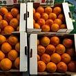 Tarocco-Orangen naturrein