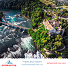 The Rhine Falls - Europe's largest waterfalls on a private day trip from Zurich with Switzerland Tour