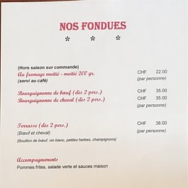 Restaurant-Pizzeria La Terrasse