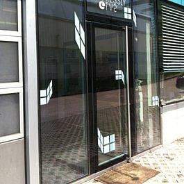 gresslyglas.ch Glastüre