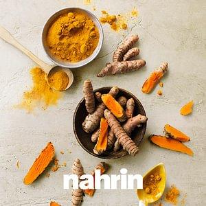 Nahrin - Spezialist für hochwertige Nahrungsergänzung wie Kurkuma Kapseln.