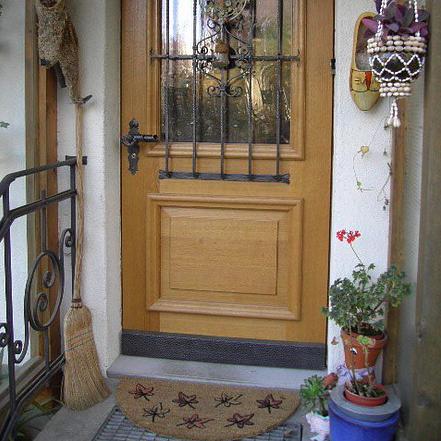 Schreinerei Widler, Mettlen - Eingangstüre