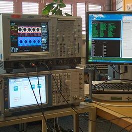 Empfaenger-Endtest für eine Satellitenbodenstation