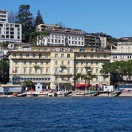 Facciata Hotel, Esterni, Entrata, Lago, Main entrance, Eingang, Seesicht