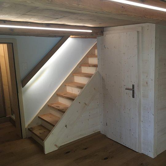 Treppe und kompletter Innenausbau aus einer Hand