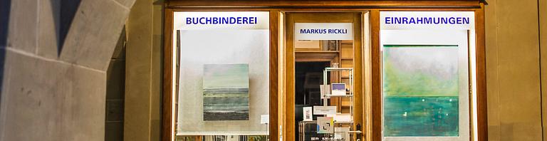 Markus Rickli · Atelier für Buchbinderei und Einrahmungen Burgdorf