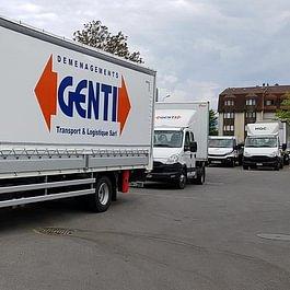 Genti Transports : Déménagements, Garde meuble, Nettoyage, Transports