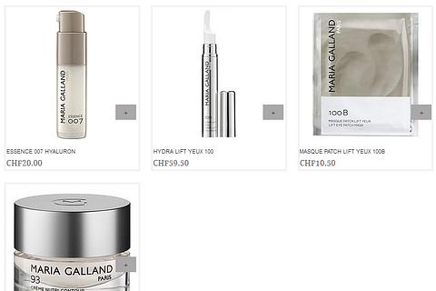 Augen / Hals – Kosmetikprodukte