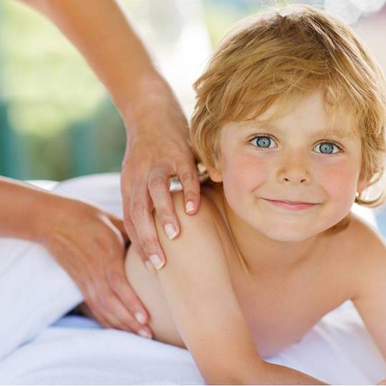Massage für Kinder