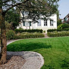 Neugestaltung einer privaten Gartenanlage
