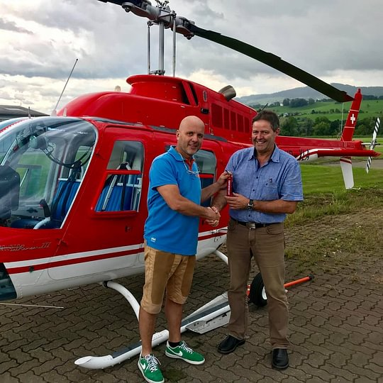 Helikopter-Service Triet AG Staad - Altenrhein