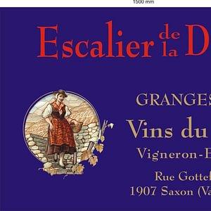 Escalier de la Dame, Granges Yves et Elisabeth