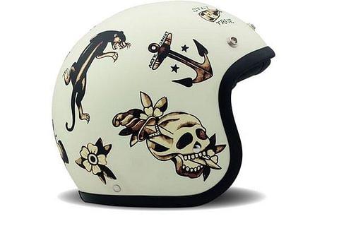 DMD Helmet Old School - Tatoo