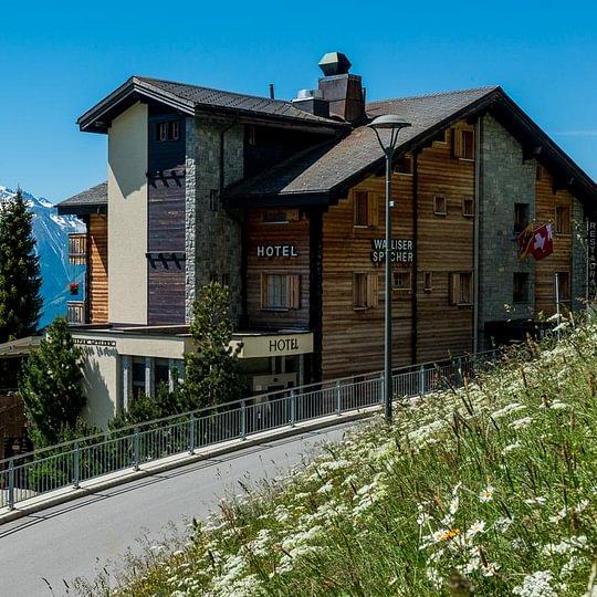 Chalet-Style Hotel Walliser Spycher