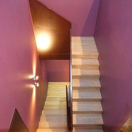 Cage d'escalier - Menuiserie-Agencement Eloi Bosson